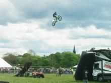 Jamie Squibb at Otley Show